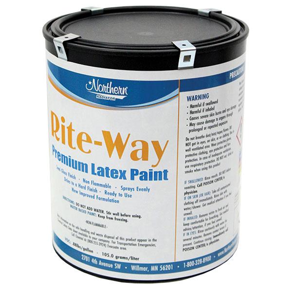 RW0115-1 Black Premium Latex Paint - 1 Gallon