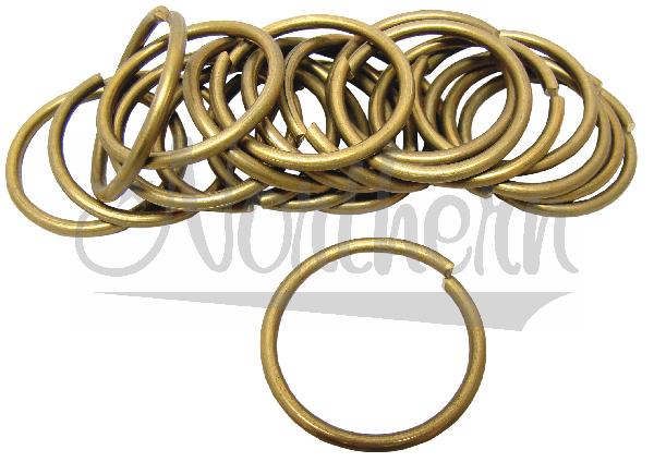 RW0179-5 1 3/8 Inch Brass Reinforcement Rings - 20 Pk