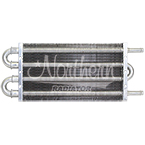 Z18010 Transmission Oil / Power Steering Cooler-10,000 Lbs. Capacity -12 1/2 x 5 x 3/4 Overall