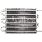 Z18014 Transmission Oil Cooler-16,000 Lbs. Capacity - 12 1/2 x 7 1/2 x 3/4 Overall