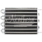 Z18018 Transmission Oil Cooler- 20,000 Lb Capacity - 15 3/4 x 10 x 3/4 Overall