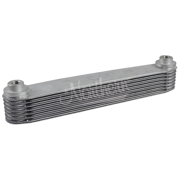 "Z18037 7 Plate Aluminum Race Pro Transmission Oil Cooler - 11 1/2"" Length"