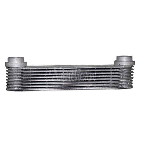 "Z18038 Super-Flow 8 Plate Aluminum Engine Oil Cooler - 10"" Length"