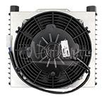 "Z18041 8 x 10 Oil Cooler Kit  With 7 1/2"" Puller Fan"