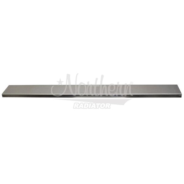 Z20234 Channel Cap - Plain Aluminum For 3 Row Boss Radiators