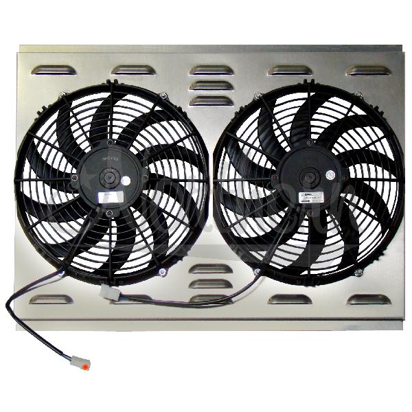 Northern Radiator Dual 12 Quot Electric Fan Amp Shroud 17 1