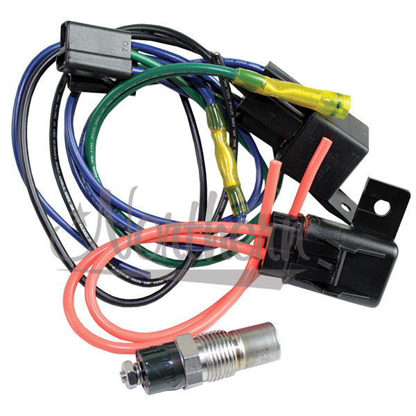 Z40078 Relay And Temp Switch  Kit