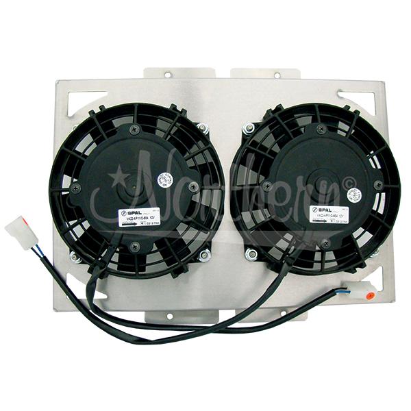 Yamaha Electric Motor Kit: YAMAHA ATV ELECTRIC FAN KIT - DUAL 6 1