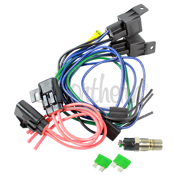 Z41032 Dual Relay With Temp Switch