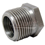 Z50650 Steel Adapter For Super-Flow Engine Oil Coolers - 3/4 Npt To 1/2 Npt 2 Pk