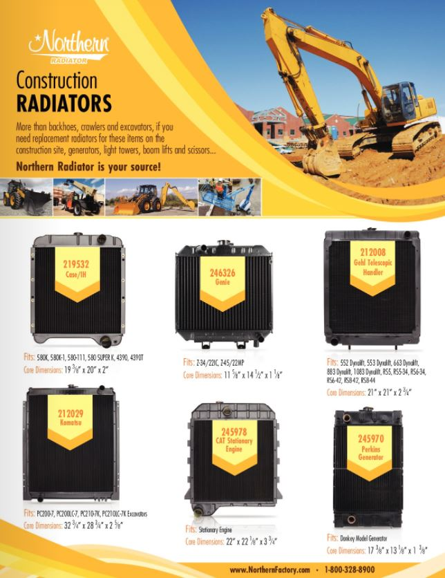 Construction Cooling Products