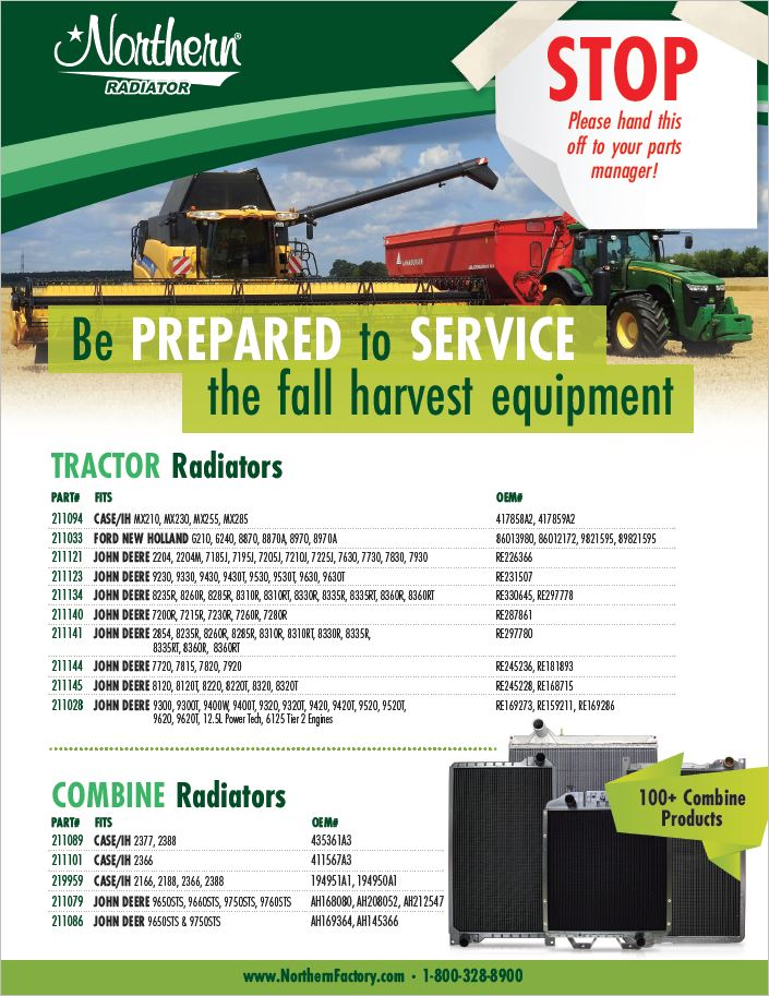Fall Harvest Ag Products