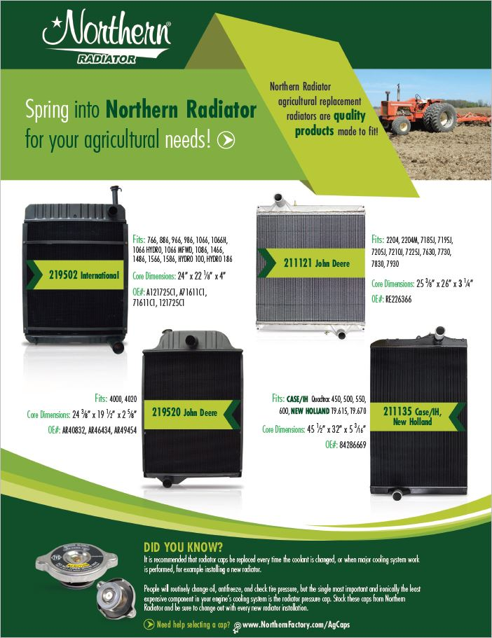 Spring Ag Products