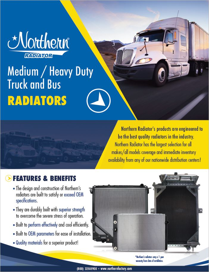 Northern Radiator Truck Radiators