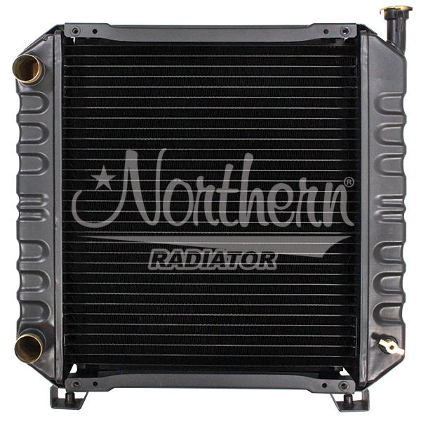Case / New Holland Tractor Radiator - 14 3/4 x 17 x 2 1/16 (CBR 4 ROW)