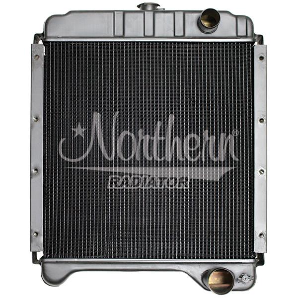 219767 Case/IH Tractor Radiator - 19 3/8 x 20 x 3 3/8