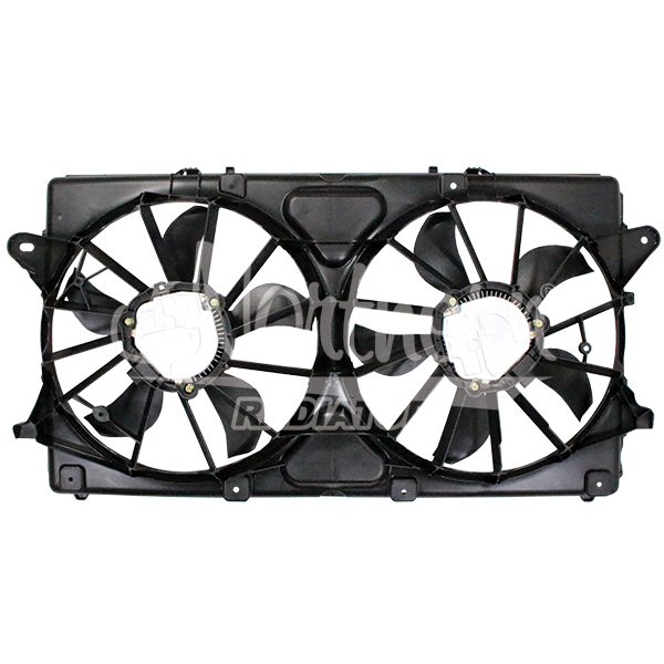 Radiator / Condenser Fan Assembly With Brushless Motor