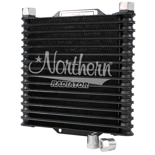 Z18040 Aluminum Oil Cooler - 8 x 10 x 1 1/4