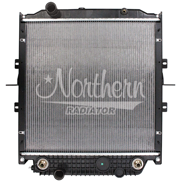 238881 Blue Bird Bus Radiator - 25 x 25 x 2 (PTR with Frame)