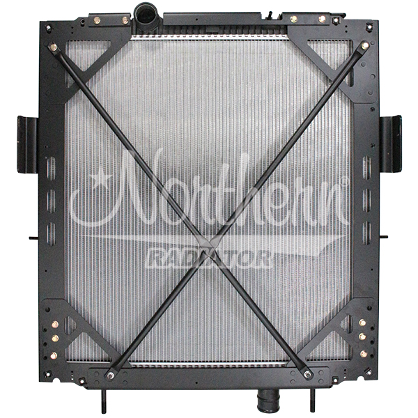 Kenworth / Peterbilt Radiator - 36 1/8 x 36 1/8 x 2 (PTR With Frame)
