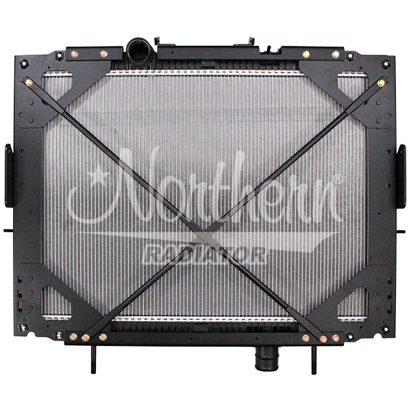 Kenworth / Peterbilt Radiator - 25 11/16 x 38 7/8 x 2 (PTR With Frame)