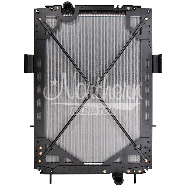 Kenworth Radiator - 40 1/2 x 30 3/4 x 2 (PTR With Frame)