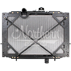 238890 Kenworth / Peterbilt Radiator - 22 1/4 x 38 7/8 x 2 (PTR With Frame)