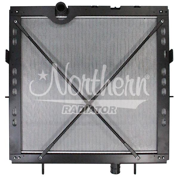 Kenworth / Peterbilt Radiator - 34 1/8 x 38 15/16 x 1 5/8 (PTR With Frame)