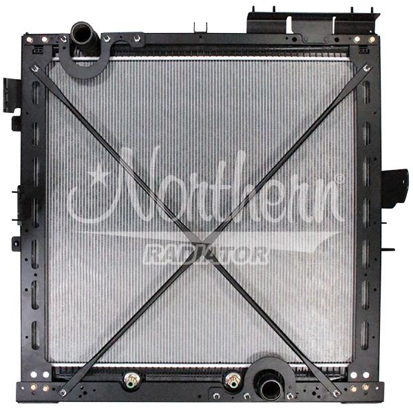International / Navistar Radiator - 34 1/8 x 38 15/16 x 1 5/8 (PTR With Frame)